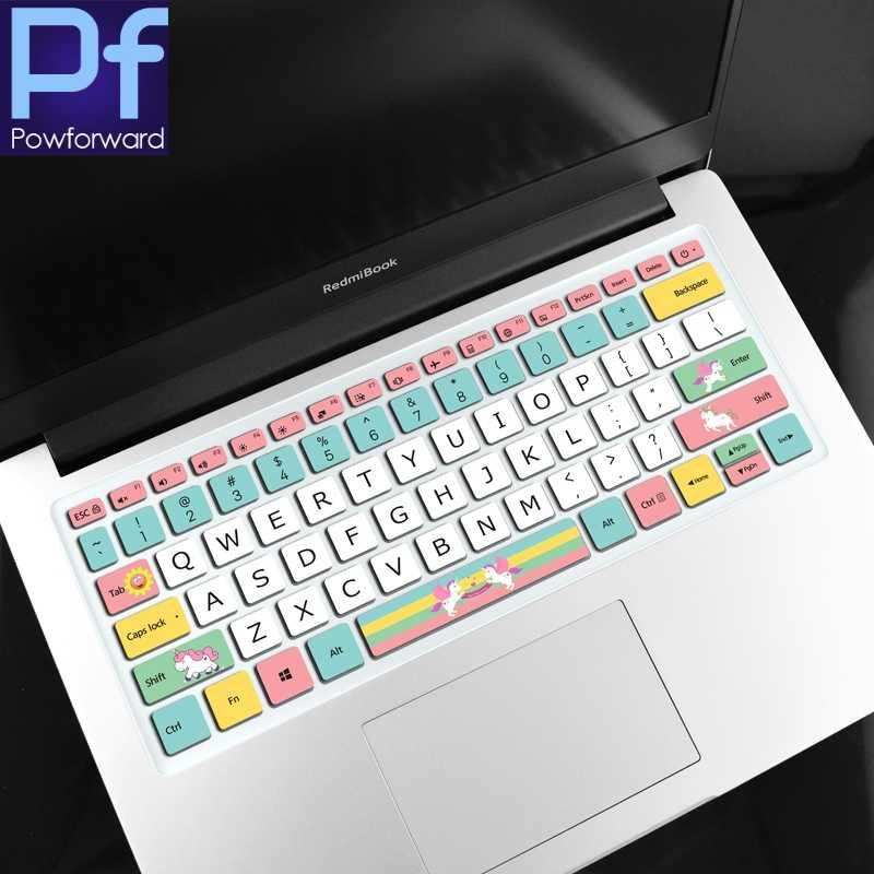 جديد 14 بوصة RedmiBook14 دفتر غطاء لوحة المفاتيح الجلد حامي ل شاومي RedmiBook 14 / RedMi كتاب لوحة مفاتيح الكمبيوتر المحمول الجلد 2019