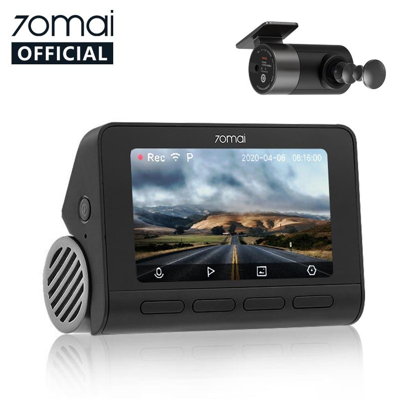 70mai Smart Dash Cam 4K A800 Built in GPS ADAS 70mai Real 4K Car DVR UHD Cinema quality Image 24H Parking SONY IMX415 140FOV|DVR/Dash Camera| - AliExpress