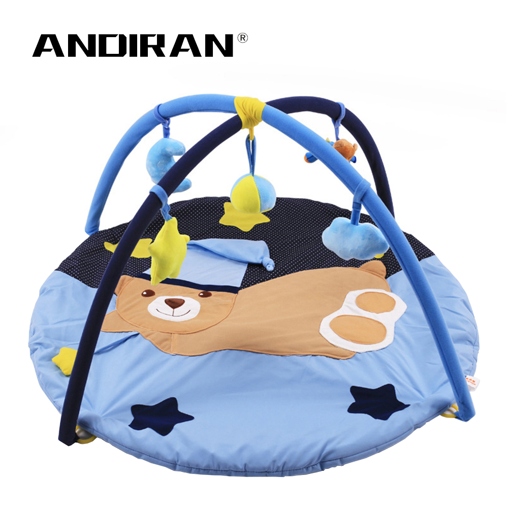 Baby Play Mat Game Blanket Kid Rug Pad Baby Fitness Frame Crawler Baby Educational Toy 0-1Y