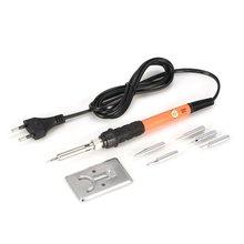 Neue Einstellbare Temperatur Elektrische Lötkolben Kit Schweißen Reparatur Werkzeuge Solder Station Wärme Löten Bleistift Tool Kit