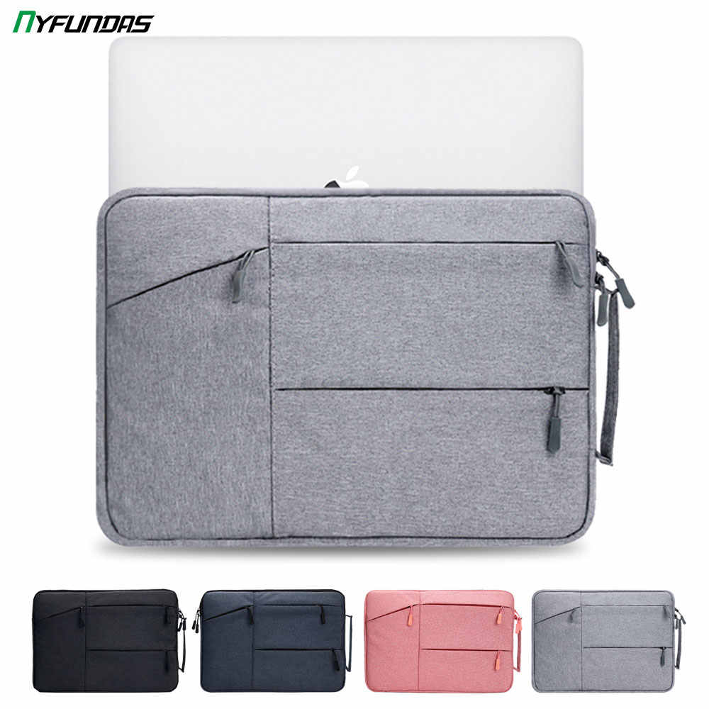 Xxh 15Inch Laptop Sleeve Case Orange and Black Neoprene Cover Bag Compatible MacBook Air//Pro