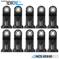 10pc 45mm HCS E-cut standard Oscillating MultiTool saw blade fit for TCH,AEG,Fein and most brands of multi-tool,FREE SHIPPING