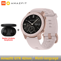 Global Version Amazfit GTR Smart Watch 42mm 5ATM 24 Days Battery GPS & GLONASS Smart Watch Women Watch Men