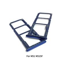 Sim-Tray-Holder Samsung for Galaxy M31S M317f/m51 M515F Adapter Socket Repair-Parts