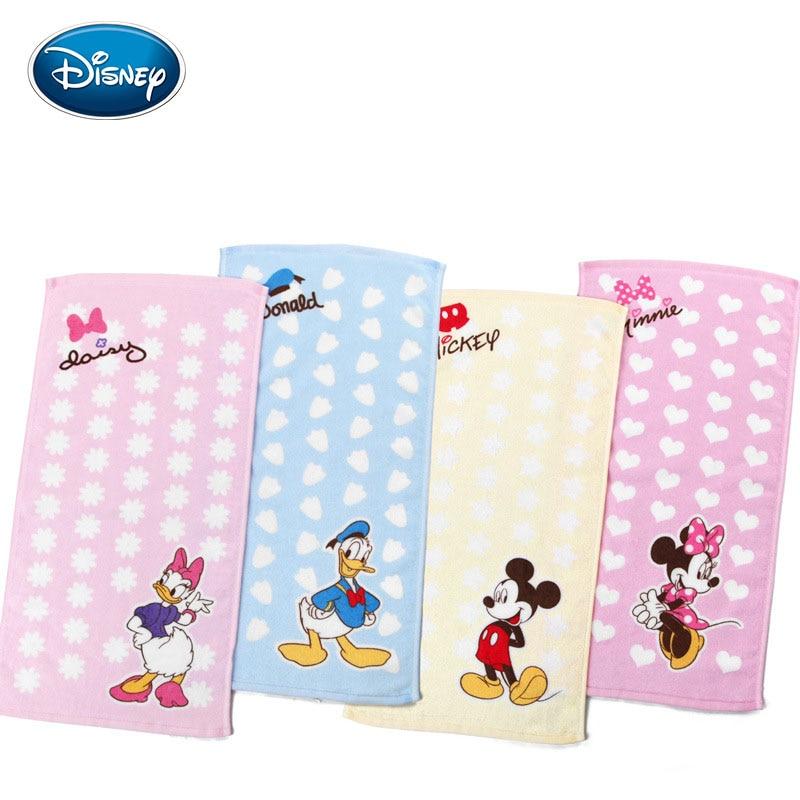 Disney DonaldDuck Pure Cotton Towel Kindergarten Children Special-purpose Towel Wash One's Face Water Uptake Soft Children Towel