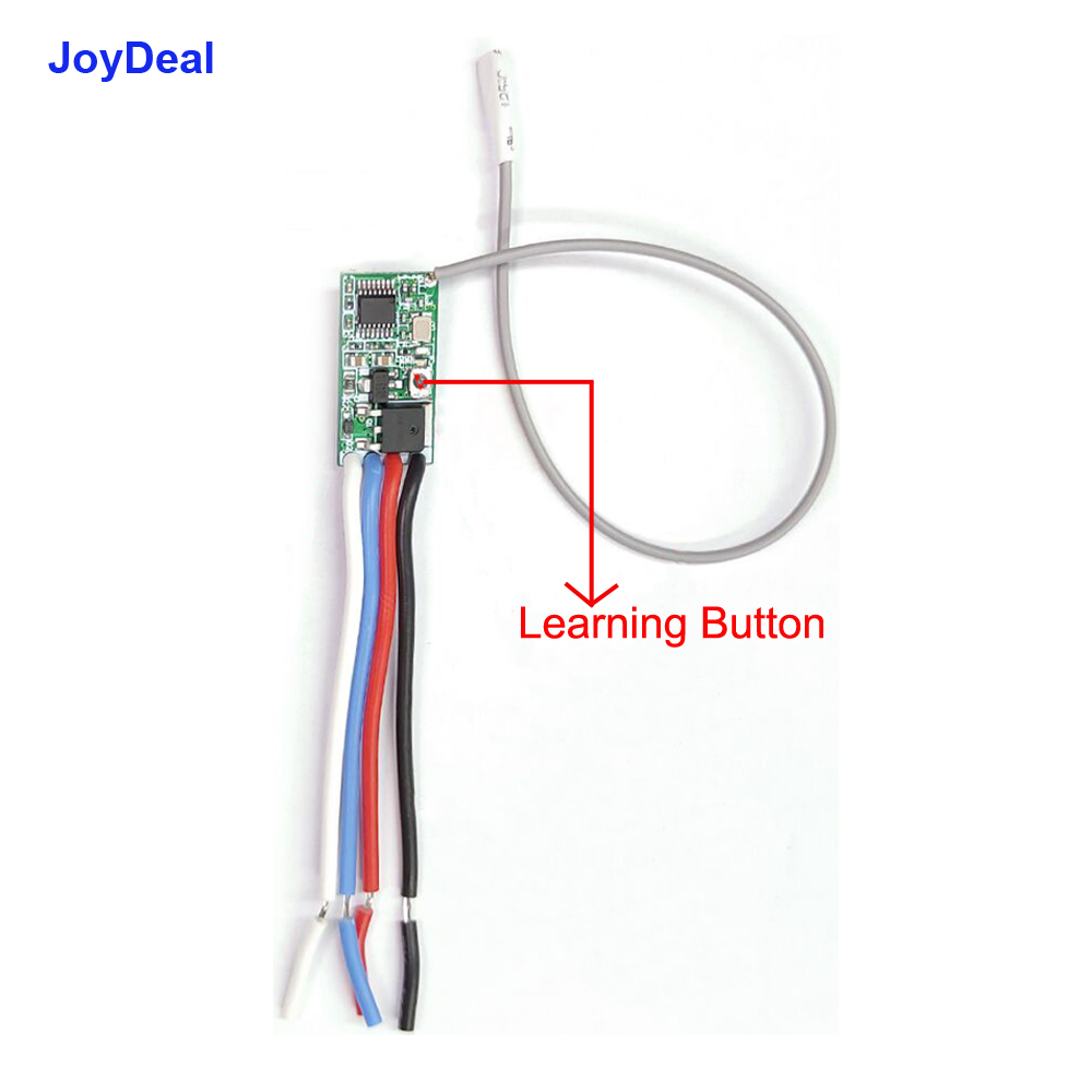 0 joydeal 5v 1ch channel wireless remote control switch