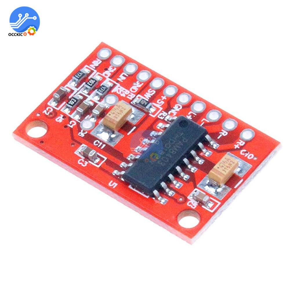 Amplifier Board PAM8403 Mini Digital Power Modulo Amplificador  DC2.5-5.5 V USB Power Supply Dual Channel Speaker Amp Board
