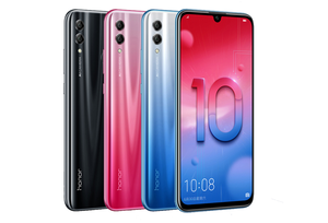 Image 5 - Honor 10 Lite Global Version MobilePhone 6.21 inch 3400mAh Android 9 24MP Camera Smartphone with Google Play OTA Update