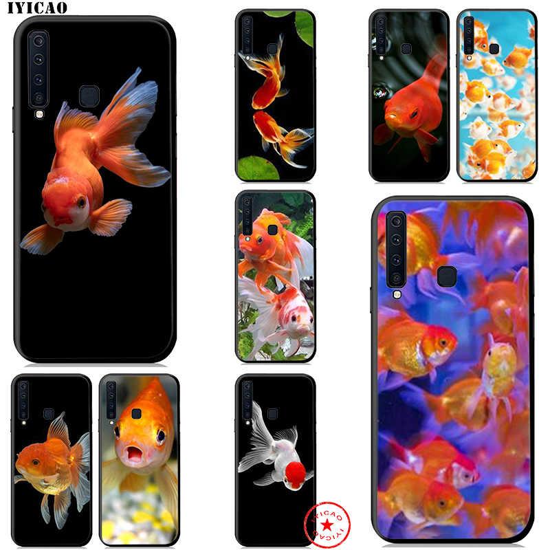 Vàng Cá Koi Mềm Mại Ốp Lưng Dành Cho Samsung Galaxy Samsung Galaxy A10s A20s A30s A40s A50s A70s A20E Silicone
