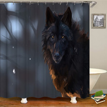 Cartoon cute style shower curtain shower curtain polyester thick waterproof shower curtain цена в Москве и Питере