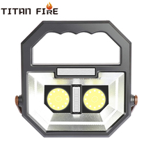 T20 Portable Work Light Rechargeable Led Camping Waterproof Flood Lights Stand Working for Workshop