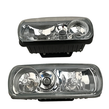 Universal Fog Light Car Front Bumper Automobile Roof Install Home Boat Use Crystal lamp High Quality 3 Color