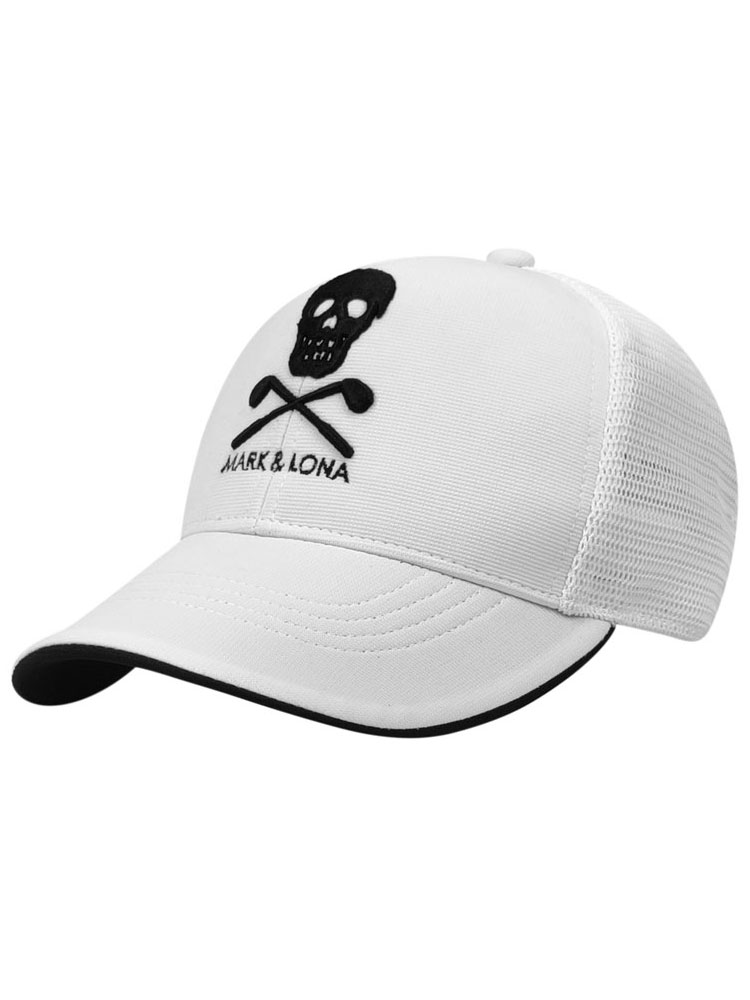 Hat MARK Golf-Hat LONA Sports New Embroidered Black And White Unisex High-Quality Ins
