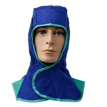 Моющийся огнестойкий сварочный шейный защитный козырек для лица головка сварщика крышка