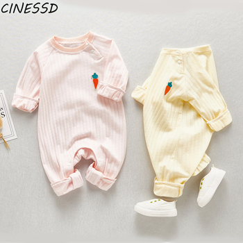 Baby Rompers Newborn Baby Boy Clothing Cotton Long Sleeve Baby Girls Clothes Kids Outfits Fashion Infant Jumpsuit Roupas Bebes baby girl rompers 0 2y summer autumn newborn baby clothes for girls long sleeve kids boys jumpsuit baby girls outfits clothes