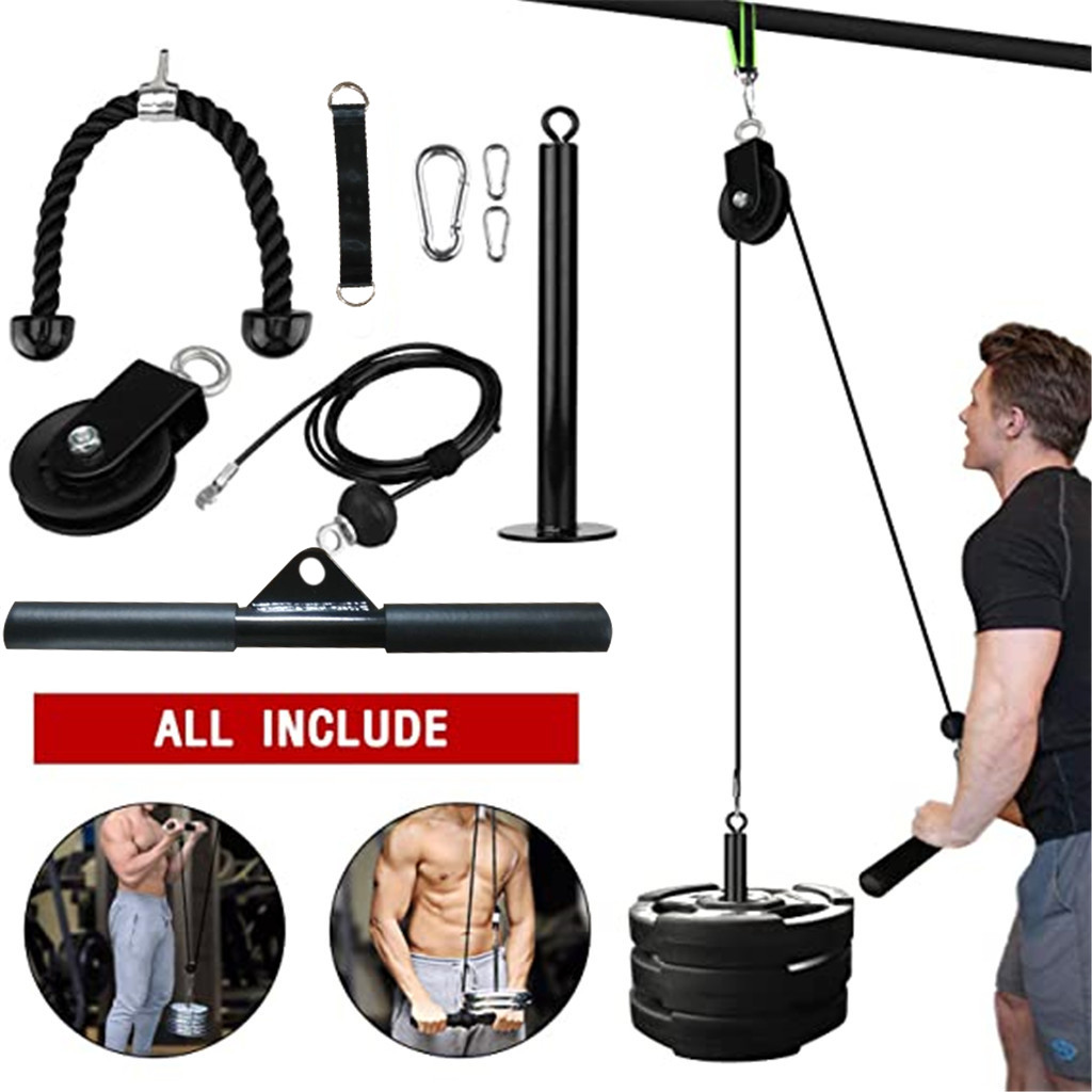 Lifting Forearm Arm Strength Fitness Equipment Pulley Cable Machine Attachment System Loading Pin Lifting Workout D3