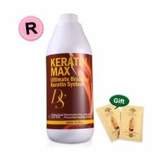 Chocolate Professional Ds Max 1000ml Keratin Treatment Hair 12% Formalin High Superior Smell  Straightening Make Hair shining