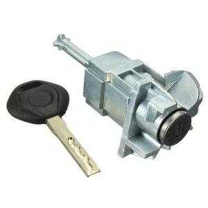 Image 2 - Cilindro de cerradura de puerta para BMW, cilindro de ensamblaje delantero izquierdo y trasero para BMW E46 serie 3