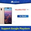 Глобальная прошивка HuaWei P20 4 аппарат не привязан к оператору сотовой связи Android телефон с двумя слотами sim-карты 24.0MP 3 камеры Kirin 970 6 ГБ ОЗУ 128 ГБ...