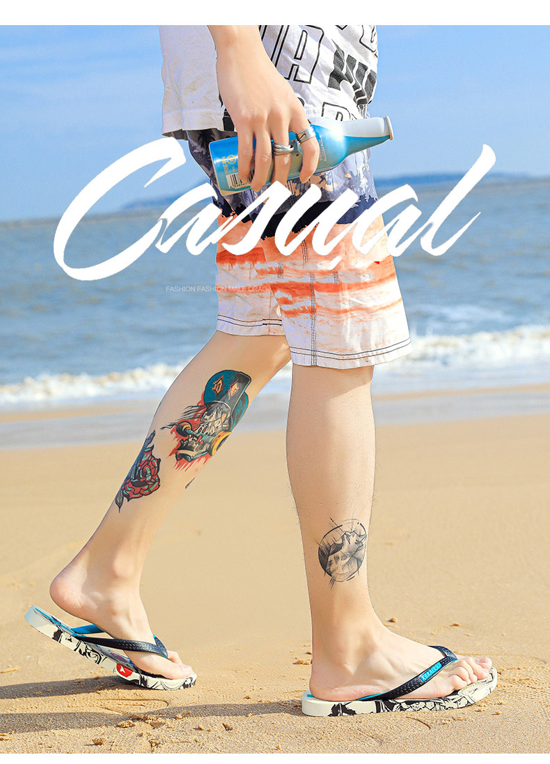 H5ab10696a9b84e1b87d28bbd9473e110a - VESONAL Summer Graffiti Print Slippers Men Shoes Flip Flops Slipers Male Hip Hop Street Beach Slipers Casual Flip-flops