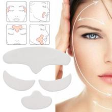 Patch-Pad Anti-Wrinkle Silicone Skin-Lifting Eye-Face Washable Forehead 4pcs