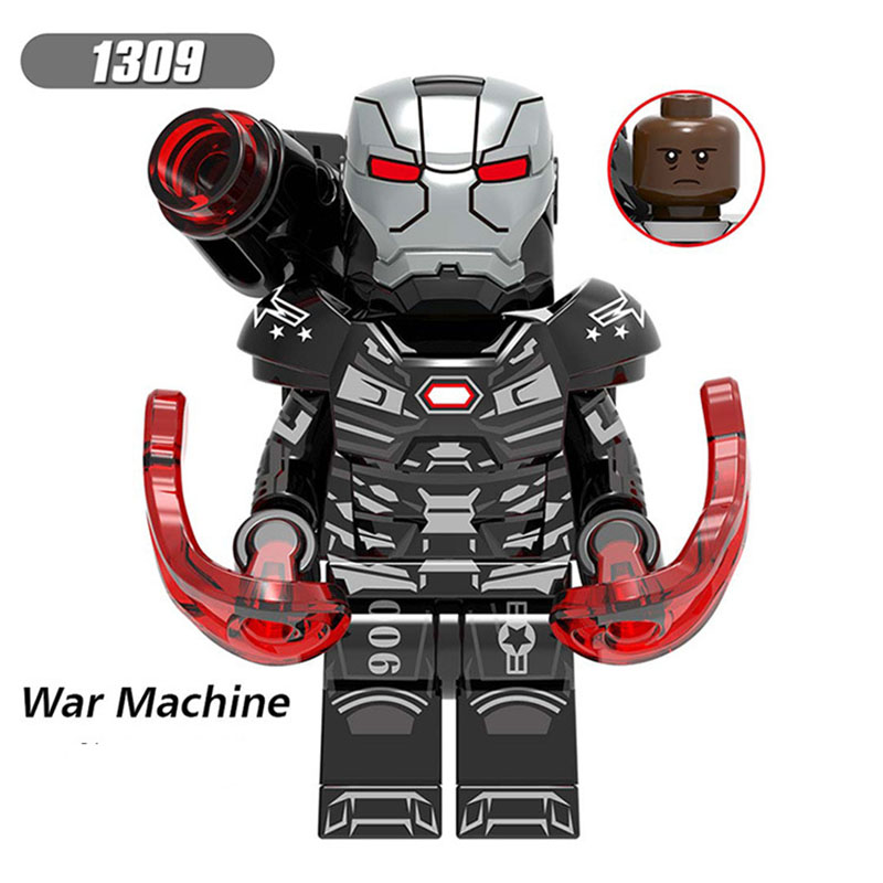 Single Sale Legoinglys Super Heroes Pepper Scarlet Wotch War Machine Gamora WASP Bricks Action Diy Toys Gifts For Children X0263