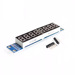 1 шт./лот MAX7219 светодиодный модуль 8-значный 7-сегментный цифровой светодиодный дисплей для arduino MCU 100% Новый оригинальный