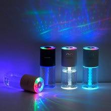 200мл магический кристалл ультразвуковой Арома диффузор USB увлажнитель воздуха автомобиля создатель тумана с ночниками мини очиститель воздуха офиса