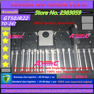 Image 2 - Aoweziic 2020 + 100% neue importiert original GT50JR22 50JR22 ZU 247 IGBT power transistor 50A 600V
