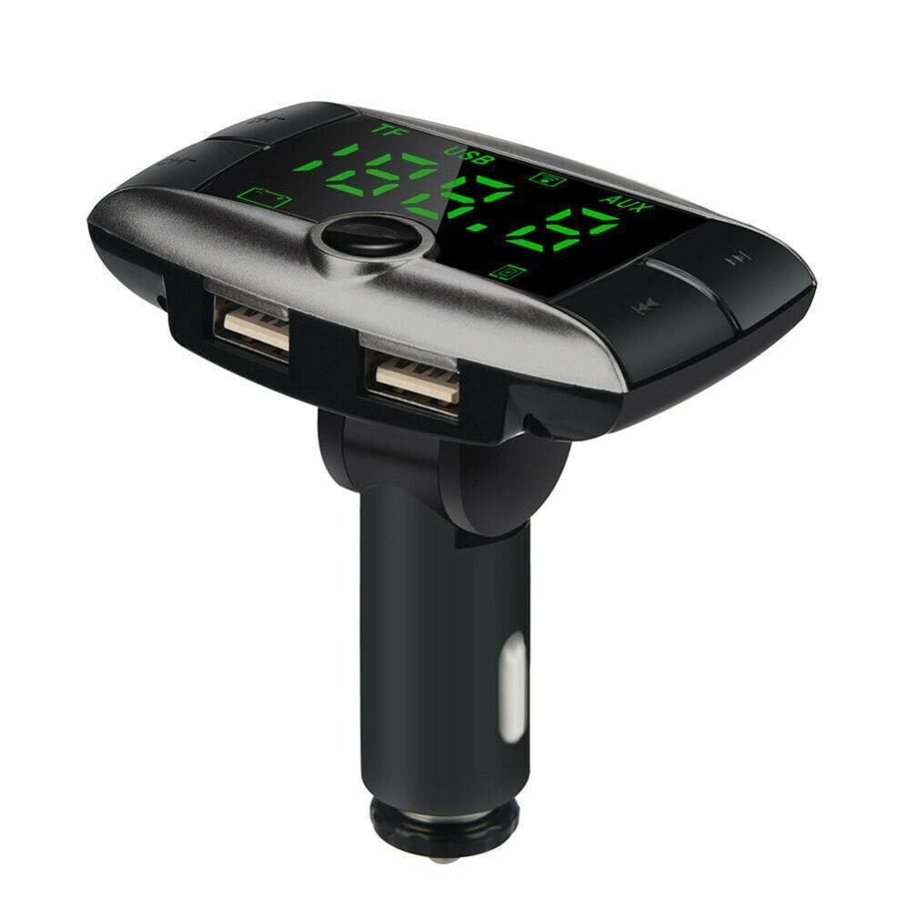 2019 NEW Wireless Bluetooth FM Transmitter Modulator Car Kit MP3 Player Dual USB Car Charger For Dropshipping or Wholesale USPS in FM Transmitters from Automobiles Motorcycles