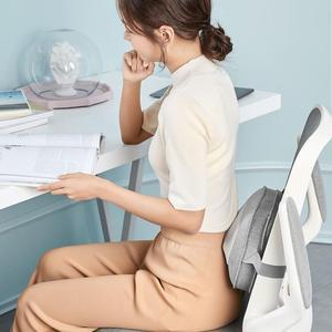 Image 2 - Almohada de masaje de relajación Youpin Leravan, vibrador de dos vías para amasar, masajeador de espalda con calefacción eléctrica para el cuello, masajeador de espalda Shiatsu