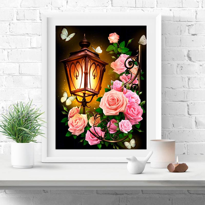 Best Discount 2a590 5d Diy Diamond Painting Flower Full Square