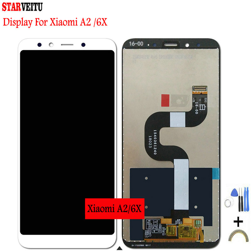 5 99 quot Original LCD for Xiaomi Mi A2 Global Mi 6X Display Touch Screen LCD Display Digitizer 10 Touch 2160 1080 Replacement LCD in Mobile Phone LCD Screens from Cellphones amp Telecommunications