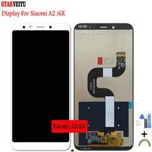 5.99Original LCD for Xiaomi Mi A2 Global/Mi 6X Display Touch Screen Digitizer 10 2160*1080 Replacement