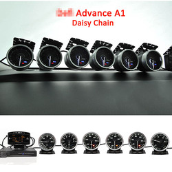 Defi Advance A1 Defi Link Systeem Daisy Chain Auto Gauge ZD + 6 meters Volt Water Temp Olie Temp Olie druk Toerenteller RPM Turbo