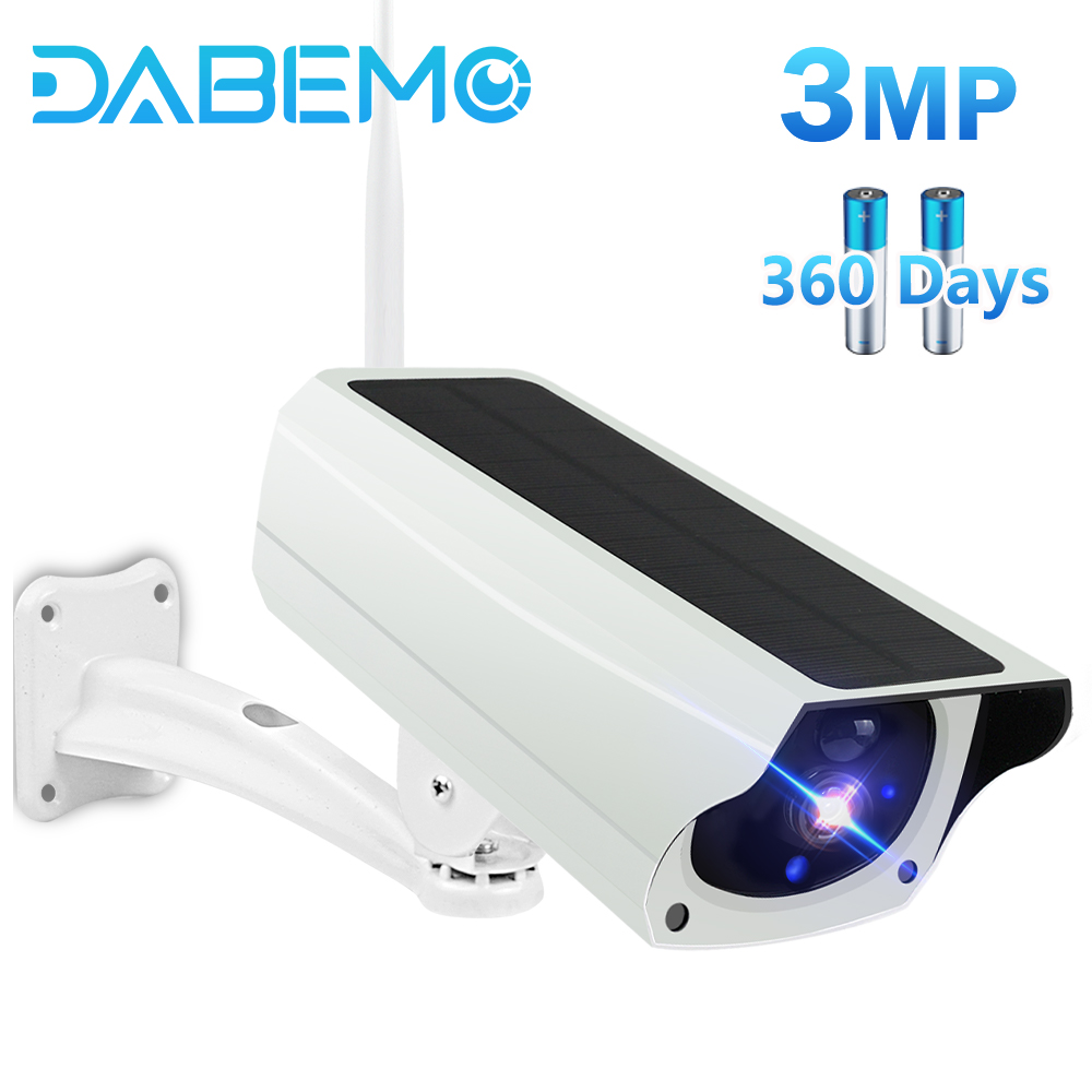 3MP HD Outdoor WIFI Camhi Pro Bullet Rechargeable Battery  Wireless Security Camera Color night IP66  Waterproof Surveillance 1