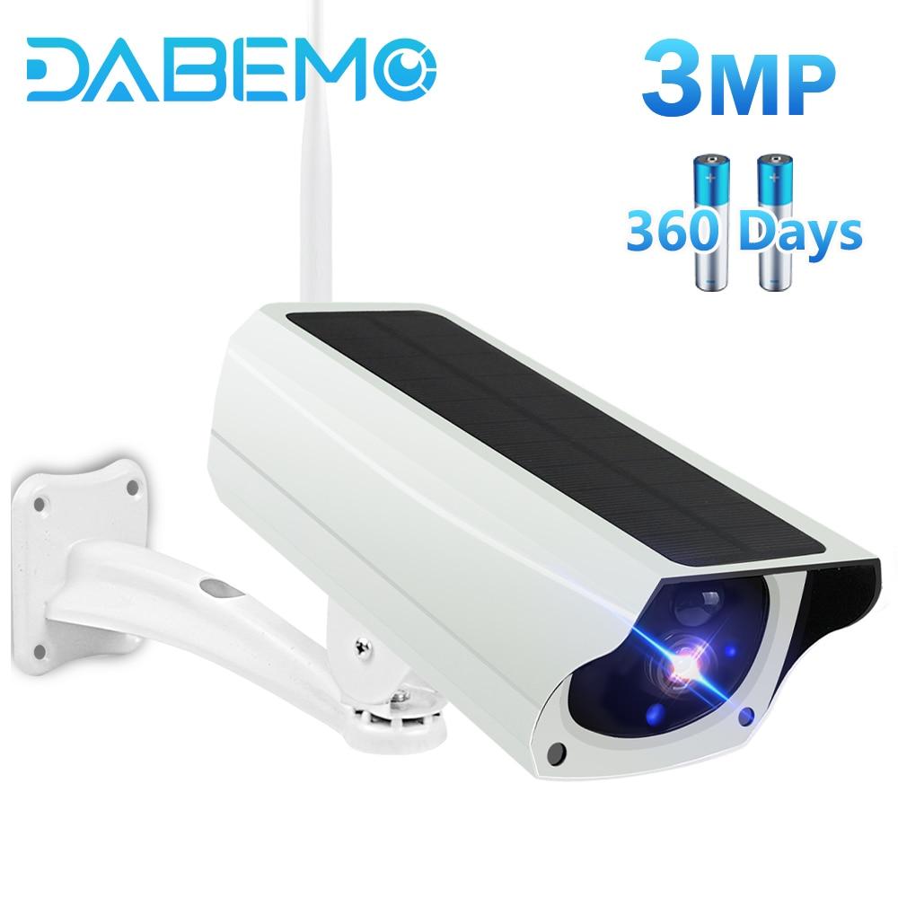 CCTV IP Waterproof Solar Camera +Free Battery + SD Card