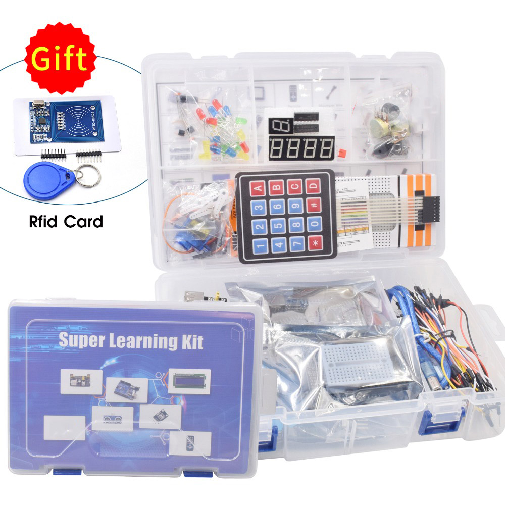 Clearance SaleStarter-Kit RC522 Arduino Uno Tutorial for Servo/1602 Lcd/uno R3 with Andé