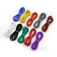 2m draht silikon 12 14 16 18 20 22 24 26 28 30 AWG 1 M rot und 1 m schwarz farbe kabel hohe qualität