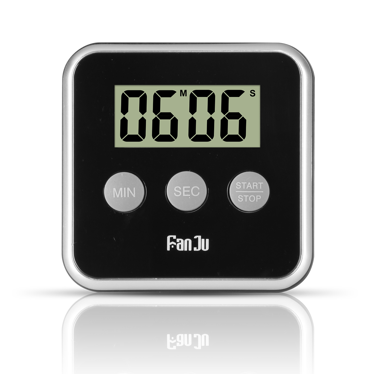FanJu FJ231 Mini Digital Kitchen Timer Large Display  Cooking Timer Count Up Alarm Clock Kitchen Accessories Hot