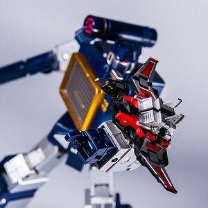 Image 2 - Transformation G1 THF 01J THF01J Soundwave OneเทปWalkman MasterPiece KO MP13อัลลอยด์Oversizeอะนิเมะรูปหุ่นยนต์ของเล่น