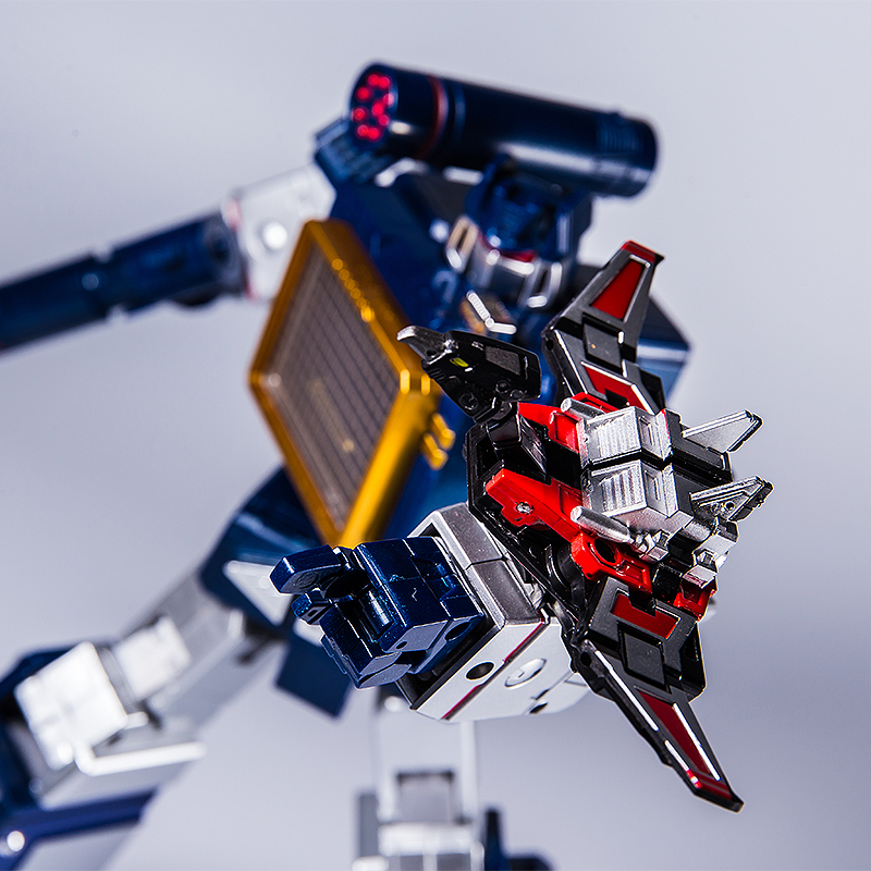 Transformed G1 THF Soundwave SIX Cassette Tapes MP-13 Figures w// FREE Stickers!!