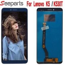 ЖК-дисплей с дигитайзером сенсорного экрана, 5,7 дюйма, для Lenovo K5 K350T k350 T, Замена ЖК-дисплея