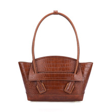 Vintage Fashion Crocodile PU Leather Luxury Handbags Women Bags Designer Female Shoulder Bag Ladies Bolsas Feminina
