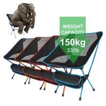 Picnic Chair Outdoor-Tools Ultralight BBQ Folding Beach-Seat Travel Fishing