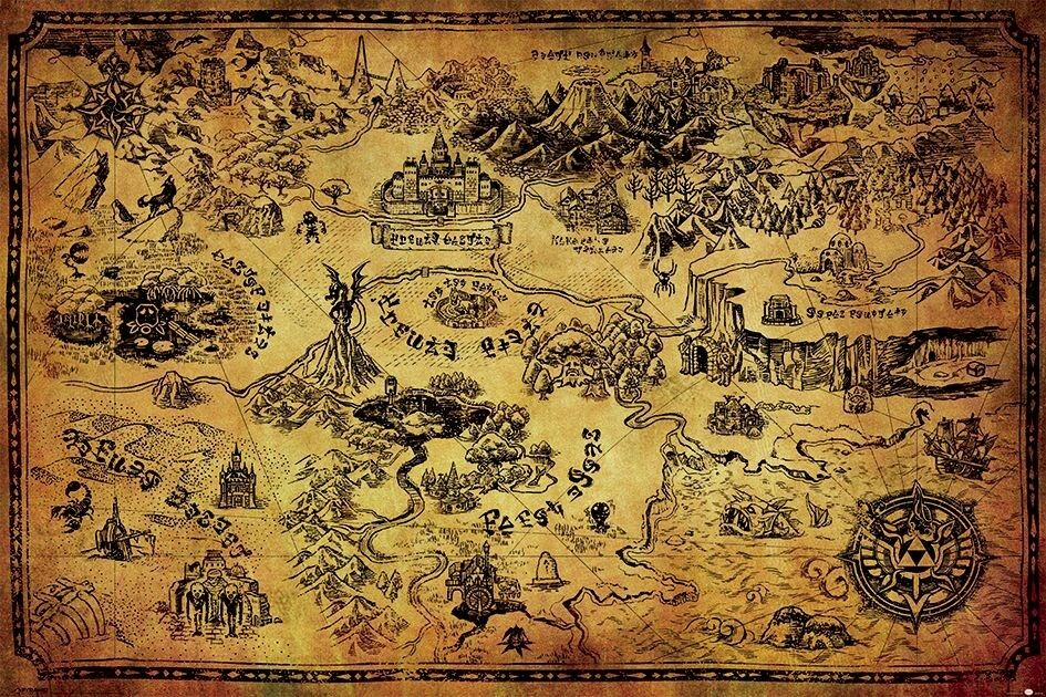 Best Top Legend Of Zelda Silk Poster Ideas And Get Free Shipping A493