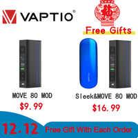 [12.12 +$1 Get 2 PCS] Vape Electronic Cigarette mod Vivakita Move Grand 80W Box Mod Fit Atomizer 510 Thread single 18650 Battery