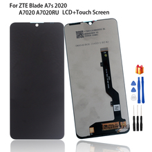 Original LCD For ZTE Blade A7s 2020 A7020 A7020RU LCD Display Touch Screen Digitizer Assembly For ZTE BLADE A7s 2020 Screen LCD