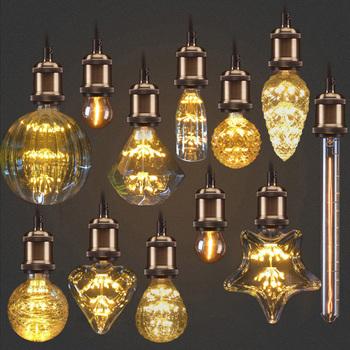 Żarówka edisona E27 3W żarówki lampa Retro 220V 110V ampułka rocznika żarówki Edison lampa żarówka żarówka oświetlenie retro tanie i dobre opinie ZISIZ Handlowych Inżynieria Indoor Profesjonalne ROHS 2700 k Aluminium 30000hrs Przezroczysty 2200 2700K Retro lamp edison