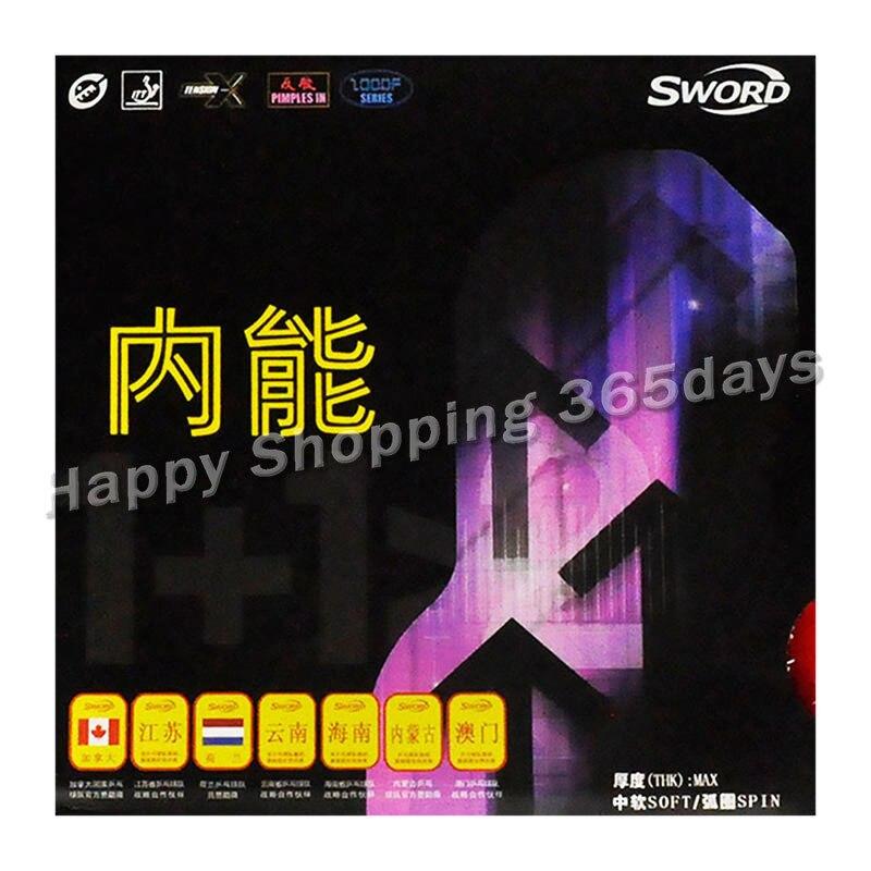 SWORD 2000F TENSION (Half-sticky, Inner Energy Sponge) Table Tennis Rubber Ping Pong Sponge